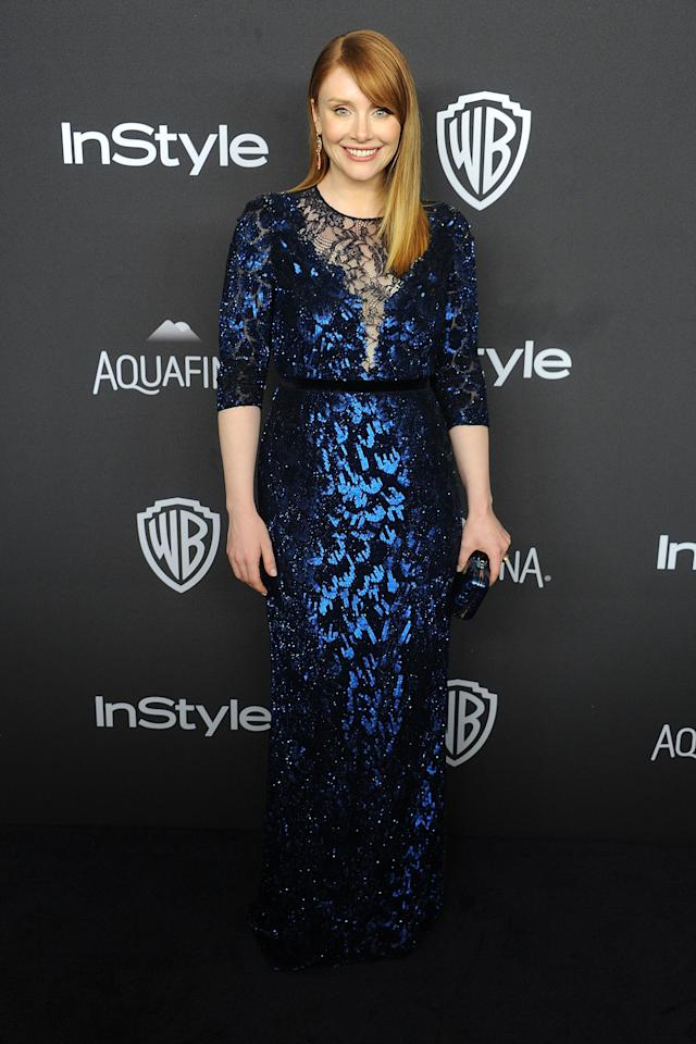 "<p>At the 2016 Golden Globes, the ""Black Mirror"" star turned heads in a stunning off-the-rack Jenny Packham gown, which cost her $4,800 USD. There's two reason she chooses to buy her own gowns.<br />""I like having lots of options for a size 6, as opposed to one option,"" she said at the 2016 Golden Globes.<br />But it also comes down to just the stress of it all.<br />""If there's time to prepare, if there's a nomination and the designer is going to be able to build a dress. That's not normally the circumstance,"" she told Yahoo Style earlier this year. ""It was such a relief when I was finally like, 'I want to feel relaxed, I want to be able to do this quickly and I want to feel good about myself.'"" </p>"