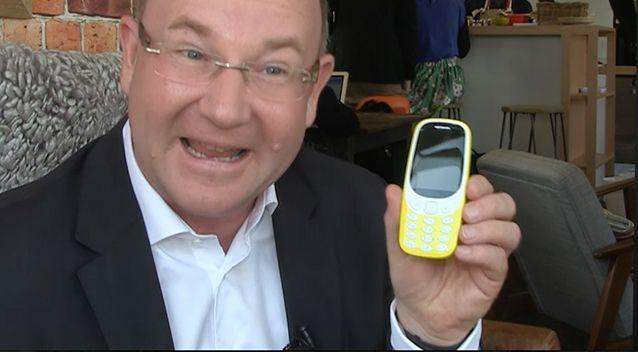 HMD Global President Florian Seiche said his company had heard the feedback and was investigating a 3g option for Australia. Photo: 7 News