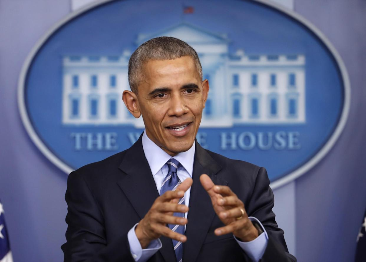 President Barack Obama at a news conference in December. (Photo: Pablo Martinez Monsivais/AP)