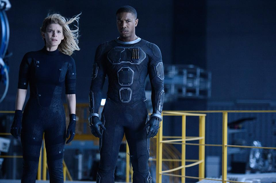 Mara and Michael B. Jordan in 'Fantastic Four' (Photo: Ben Rothstein/20th Century Fox Film Corp./Courtesy Everett Collection