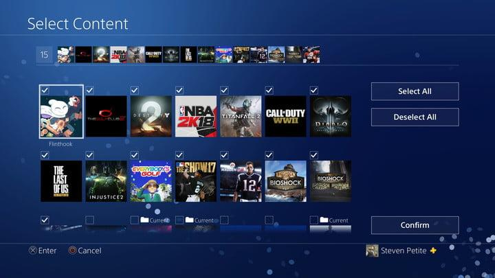 how to organize ps4 game library 20180110125252