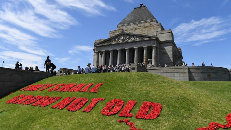The falling numbers for Remembrance Day will be put under the spotlight by the Victorian government