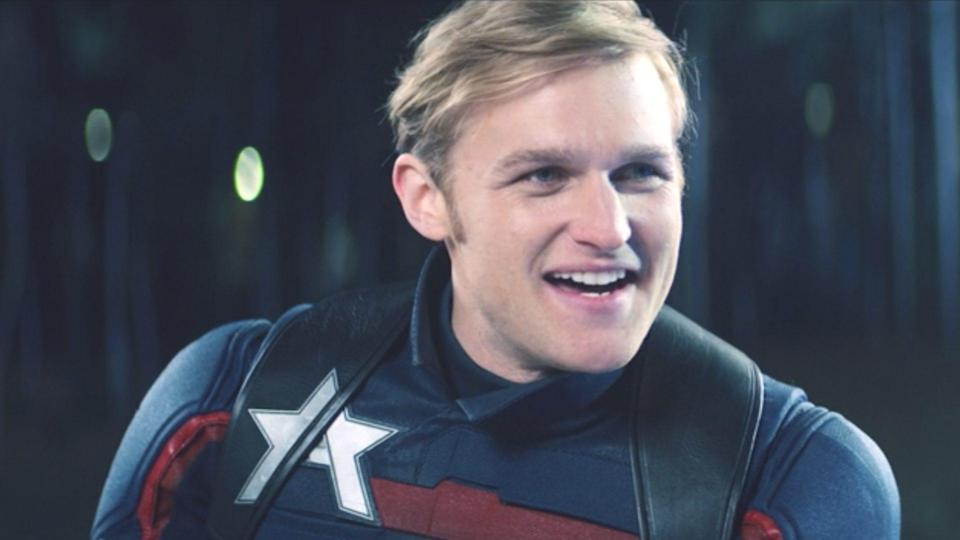 Wyatt Russell as John Walker on The Falcon and The Winter Soldier