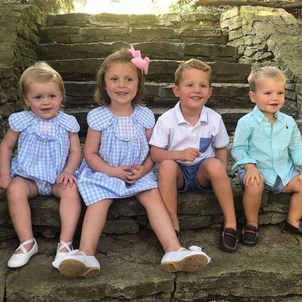 PHOTO: The Weidner family has three girls and the Zerbe family has three boys that are the same age. (Courtesy Hillary Weidner)
