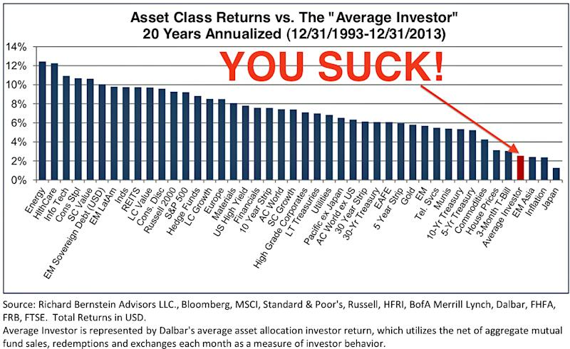 average investor returns