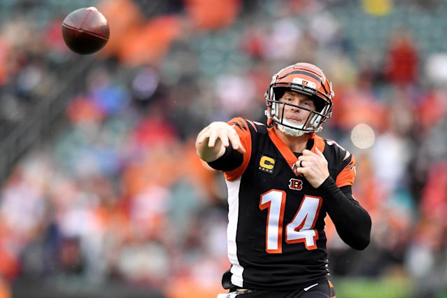 After spending his first nine years in the league with the Bengals, Andy Dalton is headed to Dallas. (Nick Cammett/Diamond Images/Getty Images)