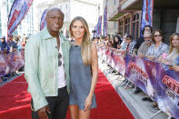 <p>They may have separated almost five years ago, but the singer and model are still on friendly terms, often being spotted on family days and nights out with their four children. The pair enjoy a working relationship too, with Heidi recently welcoming her ex as a guest host on 'America's Got Talent.' <em>[Photo: Getty]</em> </p>