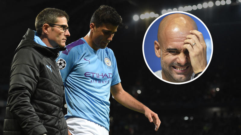 Guardiola sweating over Rodri injury outcome as he fears Man City star could be out for a month
