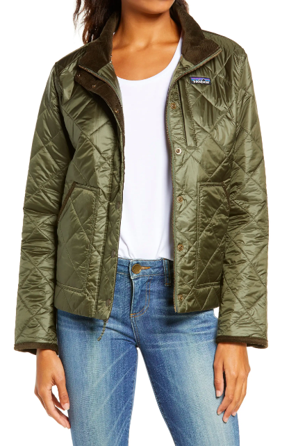 """<p><strong>Patagonia</strong></p><p>nordstrom.com</p><p><strong>$159.00</strong></p><p><a href=""""https://go.redirectingat.com?id=74968X1596630&url=https%3A%2F%2Fwww.nordstrom.com%2Fs%2Fpatagonia-back-pasture-field-jacket%2F5294340%3Forigin%3Dkeywordsearch-personalizedsort%26breadcrumb%3DHome%252FAll%2BResults%26color%3Dbasin%2Bgreen&sref=https%3A%2F%2Fwww.cosmopolitan.com%2Fstyle-beauty%2Ffashion%2Fg28749279%2Ftypes-of-coats%2F"""" rel=""""nofollow noopener"""" target=""""_blank"""" data-ylk=""""slk:Shop Now"""" class=""""link rapid-noclick-resp"""">Shop Now</a></p><p>Just like the one your nana knits but more appropriate to wear in public. The quilted fabric feels like a dream, and it provides insulation since each little square usually includes padding. </p>"""