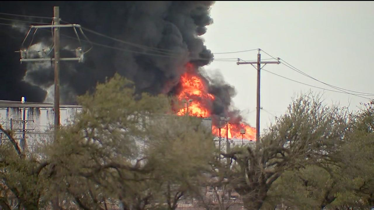 Officials confirm a second tank containing Xylene, caught on fire at the ITC plant.