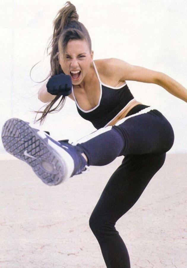 Mel C revealed she was 'exercising obsessively' during her Sporty Spice days as she thought she had to be a 'certain way.' Source: Instagram