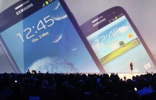 Samsung's new smartphone debuts in London
