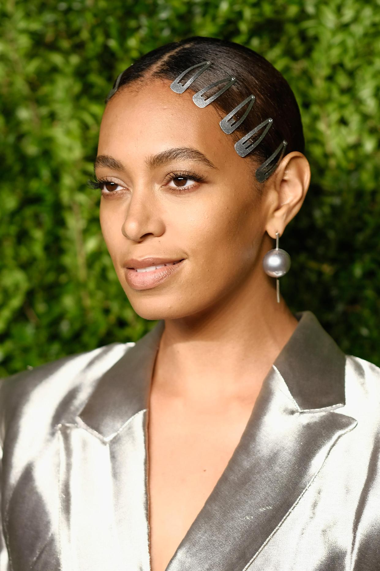 Solange Knowles's silver pantsuit is our dream outfit to ...