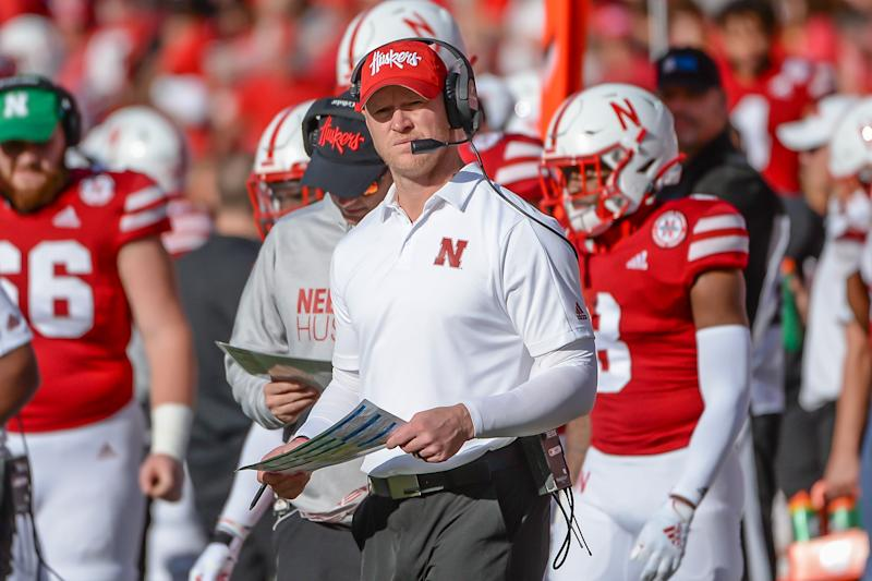 Scott Frost has an 8-13 record as the head coach at Nebraska, his alma mater. (Photo by Steven Branscombe/Getty Images)