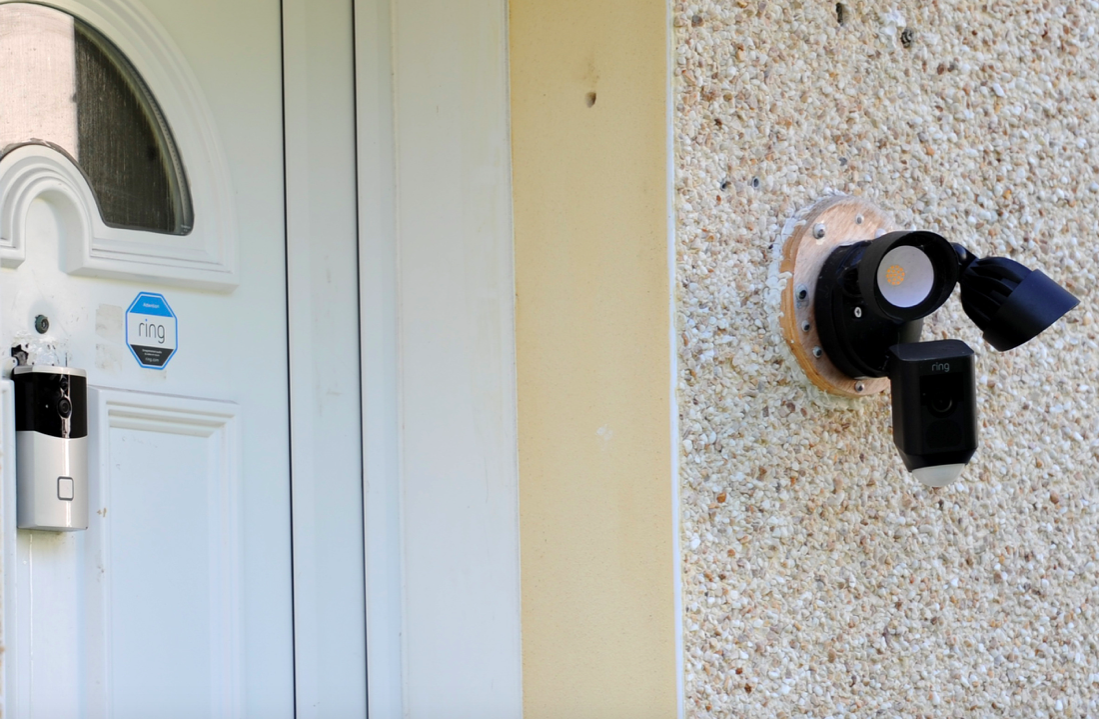 Mark Fairman says he feels like his privacy is being invaded as the Ring doorbell camera films directly into his garden. (Reach)