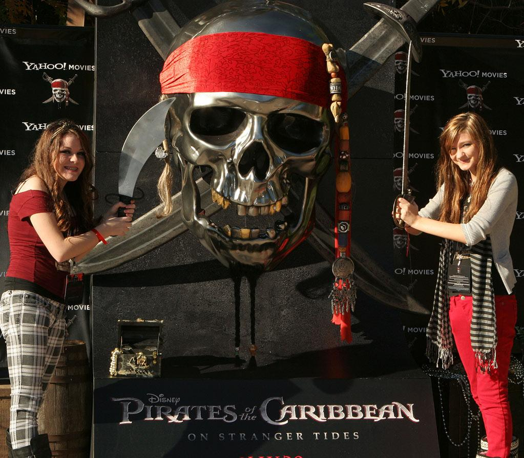 "Pirate fans attend the Disneyland California <a href=""http://movies.yahoo.com/movie/1809791042/info"">Pirates of the Caribbean: On Stranger Tides</a> trailer premiere event on December 13, 2010."