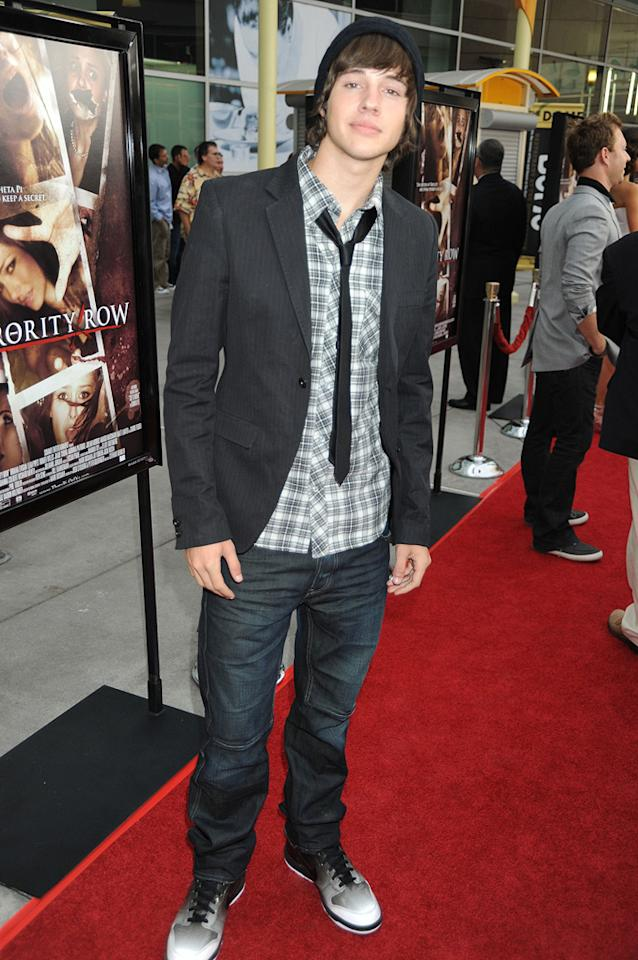 "<a href=""http://movies.yahoo.com/movie/contributor/1810091803"">Matt Prokop</a> at the Los Angeles premiere of <a href=""http://movies.yahoo.com/movie/1810046336/info"">Sorority Row</a> - 09/03/2009"