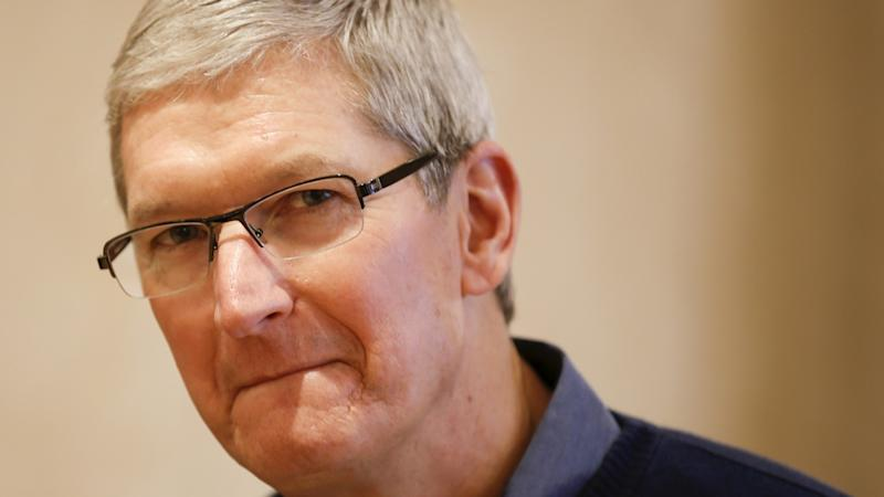Tim Cook says white supremacists and conspiracy theorists have no place on Apple platforms