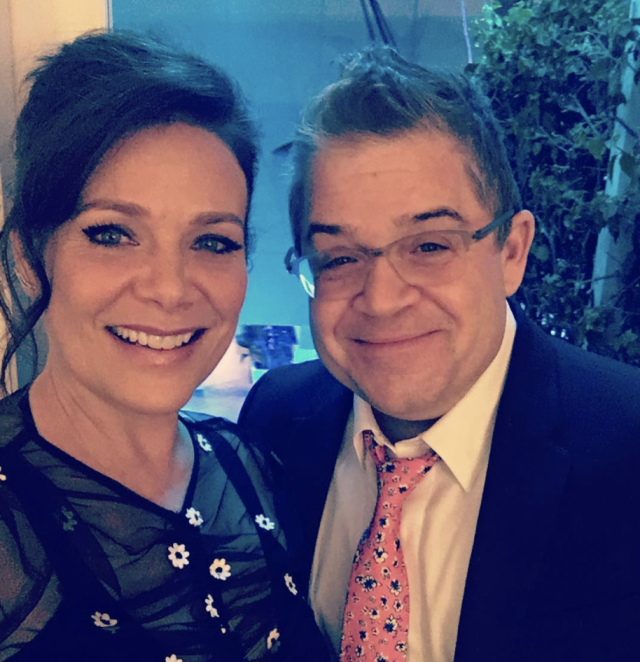"<p>Patton Oswalt and Salenger are celebrating their first Valentine's Day as a married couple. ""My funny Valentine… I love you Patton,"" she exclaimed. (Photo: <a href=""https://www.instagram.com/p/BfKmS-YH_fF/?taken-by=meredithsalenger"" rel=""nofollow noopener"" target=""_blank"" data-ylk=""slk:Meredith Salenger via Instagram"" class=""link rapid-noclick-resp"">Meredith Salenger via Instagram</a>) </p>"