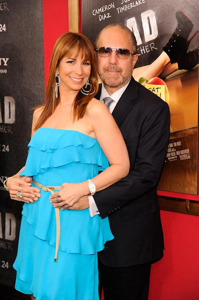 """Jill and Bobby Zarin at the New York City premiere of <a href=""""http://movies.yahoo.com/movie/1810150690/info"""">Bad Teacher</a> on June 21, 2011."""