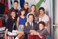 """<p>The Bayside High set didn't die with the show. It has been repurposed and used as the school setting for many shows since, <a href=""""https://www.huffingtonpost.com/2014/12/10/thats-so-raven-trivia_n_6297882.html"""" rel=""""nofollow noopener"""" target=""""_blank"""" data-ylk=""""slk:including"""" class=""""link rapid-noclick-resp"""">including </a><em><a href=""""https://www.huffingtonpost.com/2014/12/10/thats-so-raven-trivia_n_6297882.html"""" rel=""""nofollow noopener"""" target=""""_blank"""" data-ylk=""""slk:That's So Raven"""" class=""""link rapid-noclick-resp"""">That's So Raven</a> </em>(which was also called Bayside!) and<em> iCarly</em>. </p>"""
