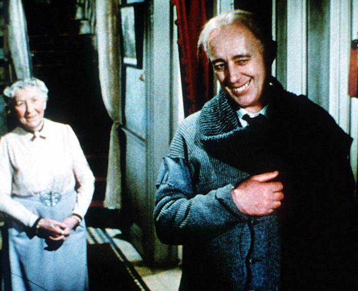 Guinness as Professor Marcus in 1955's 'The Ladykillers' (Rex Features)