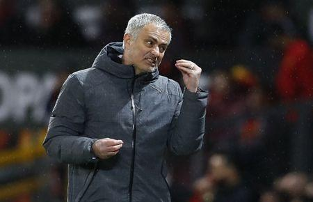 Britain Football Soccer - Manchester United v FC Rostov - Europa League Round of 16 Second Leg - Old Trafford, Manchester, England - 16/3/17 Manchester United manager Jose Mourinho Action Images via Reuters / Jason Cairnduff Livepic