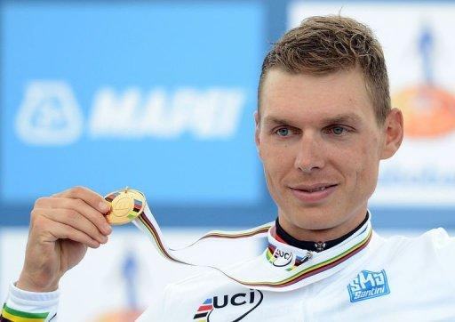 Tony Martin clocked an average speed of 46.8 kmph