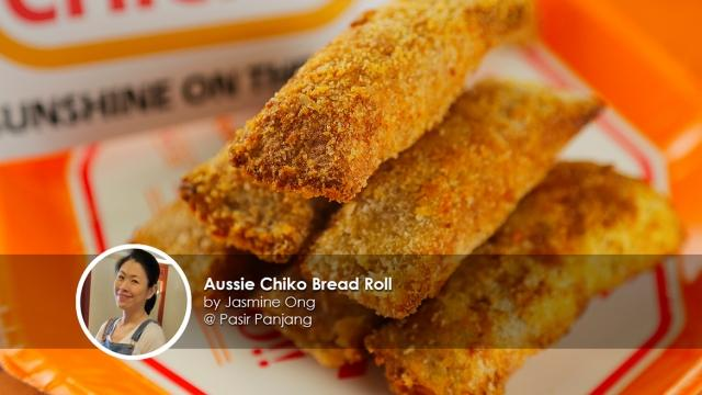 Aussie Chiko Bread Roll - Home cook Jasmine Ong