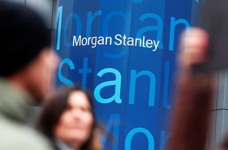 FILE PHOTO: The headquarters of Morgan Stanley is seen in New York