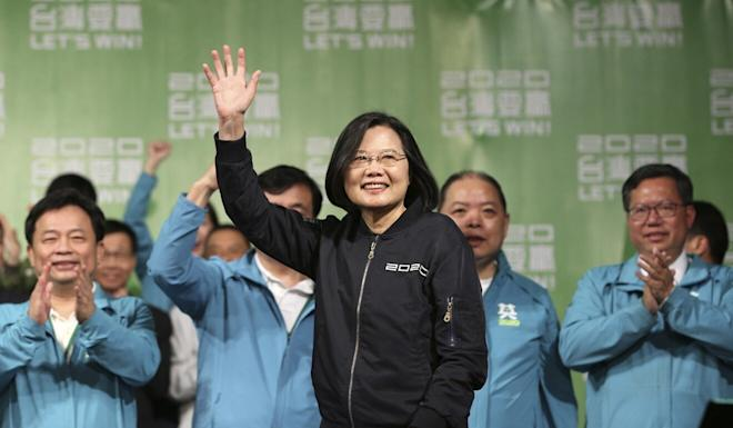 Some analysts believe Hong Kong's protest movement played a role in Taiwanese President Tsai Ing-wen landslide election victory in 2020. Photo: AP