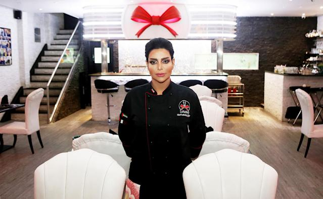 "<p>Kuwaiti ""Chef Meshael"" poses for a picture at her restaurant ""LaMeShO"" in the town of Mahboula, about 30 kilometres south of the capital, Kuwait City, on March 6, 2018. (Photo: Yasser al-Zayyat/AFP/Getty Images) </p>"
