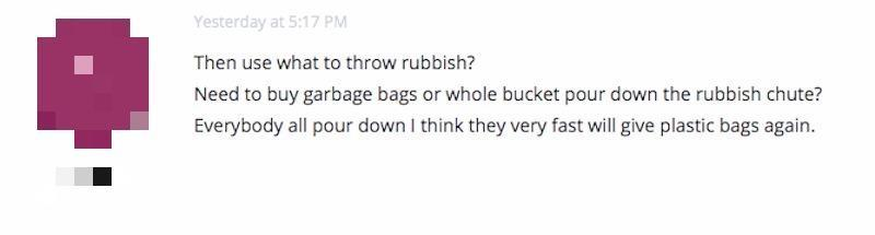 Opinion on charging for plastic bags