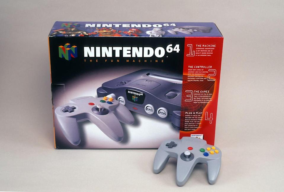 "<p>Nintendo's next console following the Super Nintendo in the early '90s introduced a revolutionary new controller. The Nintendo 64 came packing a very odd, three-pronged gamepad that was different than anything that came before it. The M-shaped controller featured a a directional pad, a center ""Start"" button, both ""A"" and ""B"" buttons, and four yellow directional buttons labeled ""C"". </p><p>In addition to shoulder buttons and a back trigger, it featured an analog stick on the middle prong. Users could reposition their grip on the controller as games required, but the analog stick was the biggest game changer of the entire experience.</p>"