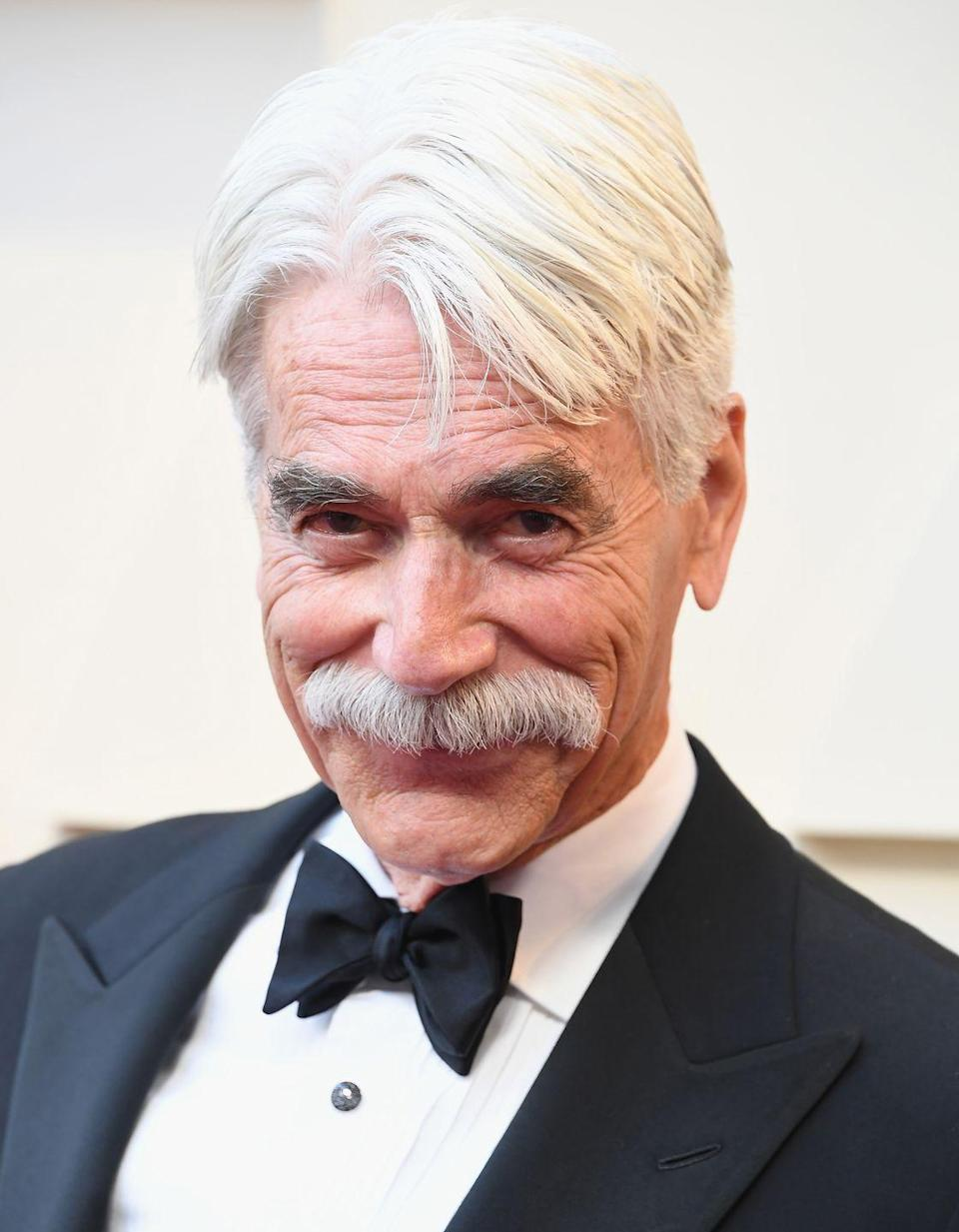 <p>Though Elliott's slow drawl has become his most famous non-mustached feature, he was told early in his career to lose the accent. Thankfully, Elliott's voice didn't go anywhere.</p>