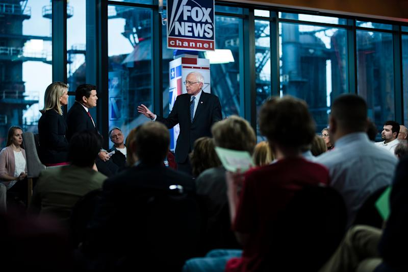 Bernie Sanders is Bernie Sanders at Fox News town hall and survives. Who's next? Anyone?