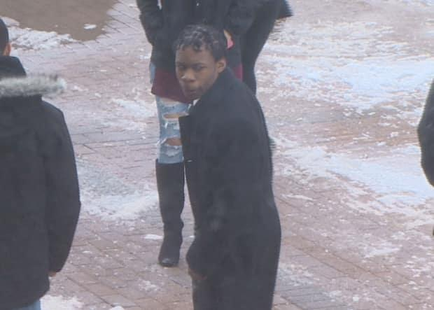 Markel Jason Downey is shown leaving court in Halifax in 2017  (CBC - image credit)