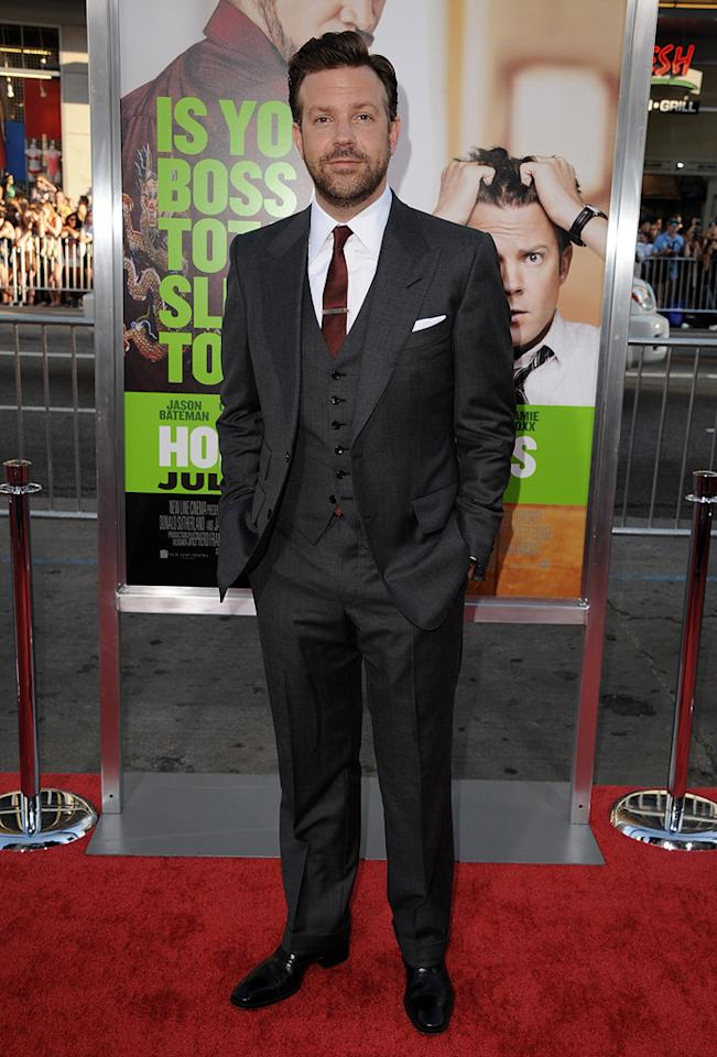 "<a href=""http://movies.yahoo.com/movie/contributor/1809724956"">Jason Sudeikis</a> at the Los Angeles premiere of <a href=""http://movies.yahoo.com/movie/1810161382/info"">Horrible Bosses</a> on June 30, 2011."