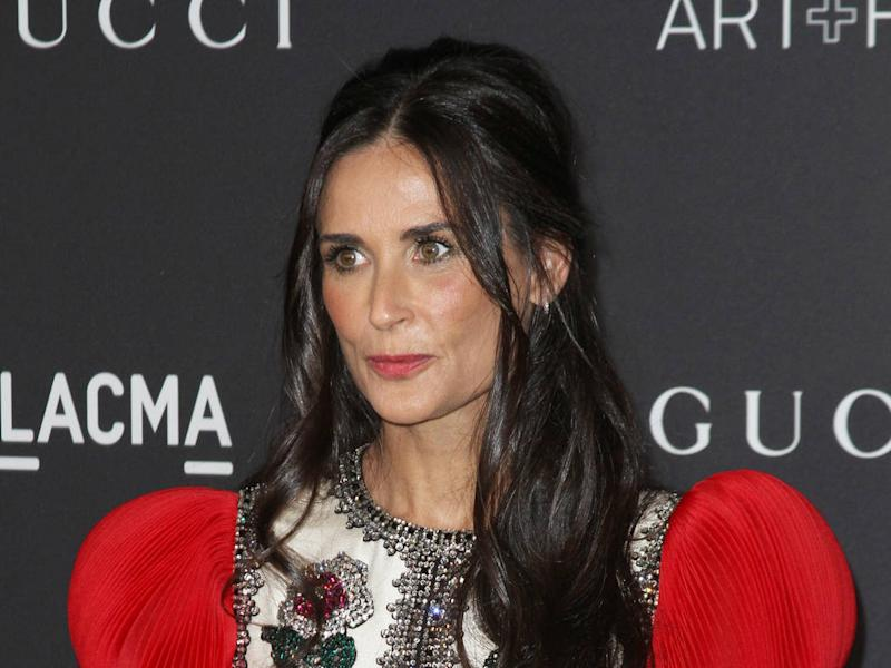 Demi Moore cheated on first husband the night before wedding