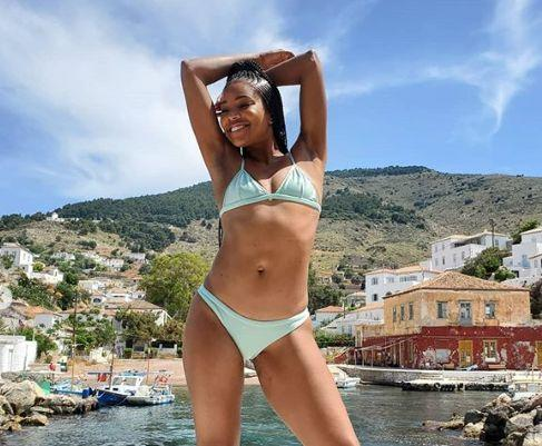 Gabrielle Union, 46, is being praised for natural and youthful bikini pictures. (Photo: Instagram)