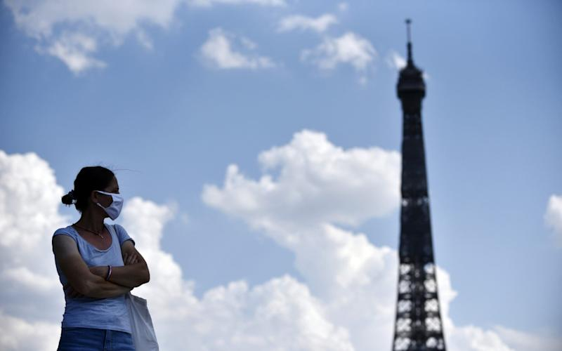 Paris has tightened rules on wearing face masks in public