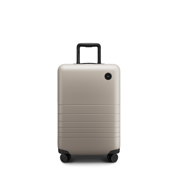"""<h2>Best Quiet Rolling Luggage<br></h2><br><h3>Monos Carry-On Plus<br></h3><br>Not only does this plus-size carry-on """"roll like it's on ice,"""" thanks to its whisper-quiet wheels, it also keeps belongings safe and sound with its unbreakable polycarbonate shell. Dare we say it's silent but deadly?<br><br><strong>The Hype:</strong> 4.9 out of 5 stars and 283 reviews <br><br><strong>Out Of Towners say:</strong> """" This luggage is beautiful and sleek and rolls like it's on ice. The handle is solid and fluid and I also keep moving it up and down, just because it's so fun. The extra touches such as the shoe bag, laundry bag, leather luggage tag, reusable TSA ziplock bag, and cloth encasement for when not in use..are so nice!""""<br><br><em>Shop <strong><a href=""""http://monos.com"""" rel=""""nofollow noopener"""" target=""""_blank"""" data-ylk=""""slk:Monos"""" class=""""link rapid-noclick-resp"""">Monos</a></strong></em><br><br><strong>Monos</strong> Carry-On Plus, $, available at <a href=""""https://go.skimresources.com/?id=30283X879131&url=https%3A%2F%2Fmonos.com%2Fproducts%2Fcarry-on-plus"""" rel=""""nofollow noopener"""" target=""""_blank"""" data-ylk=""""slk:Monos"""" class=""""link rapid-noclick-resp"""">Monos</a>"""