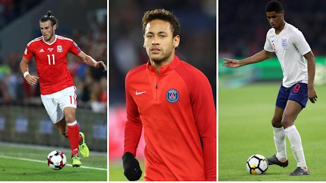 Gossip: Neymar 'refuses to rule out Man City move', Bale 'set for Man Utd if Zidane stays', Real Madrid 'target Rashford'