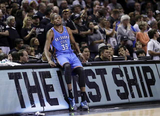 As Thunder go cold, Kevin Durant, Russell Westbrook get heated with each other