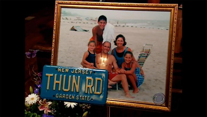 A memorial service for Ridgewood, N.J. father, husband, friend and neighbor Jon Vandevander, who was killed on 9/11.  / Credit: CBS News