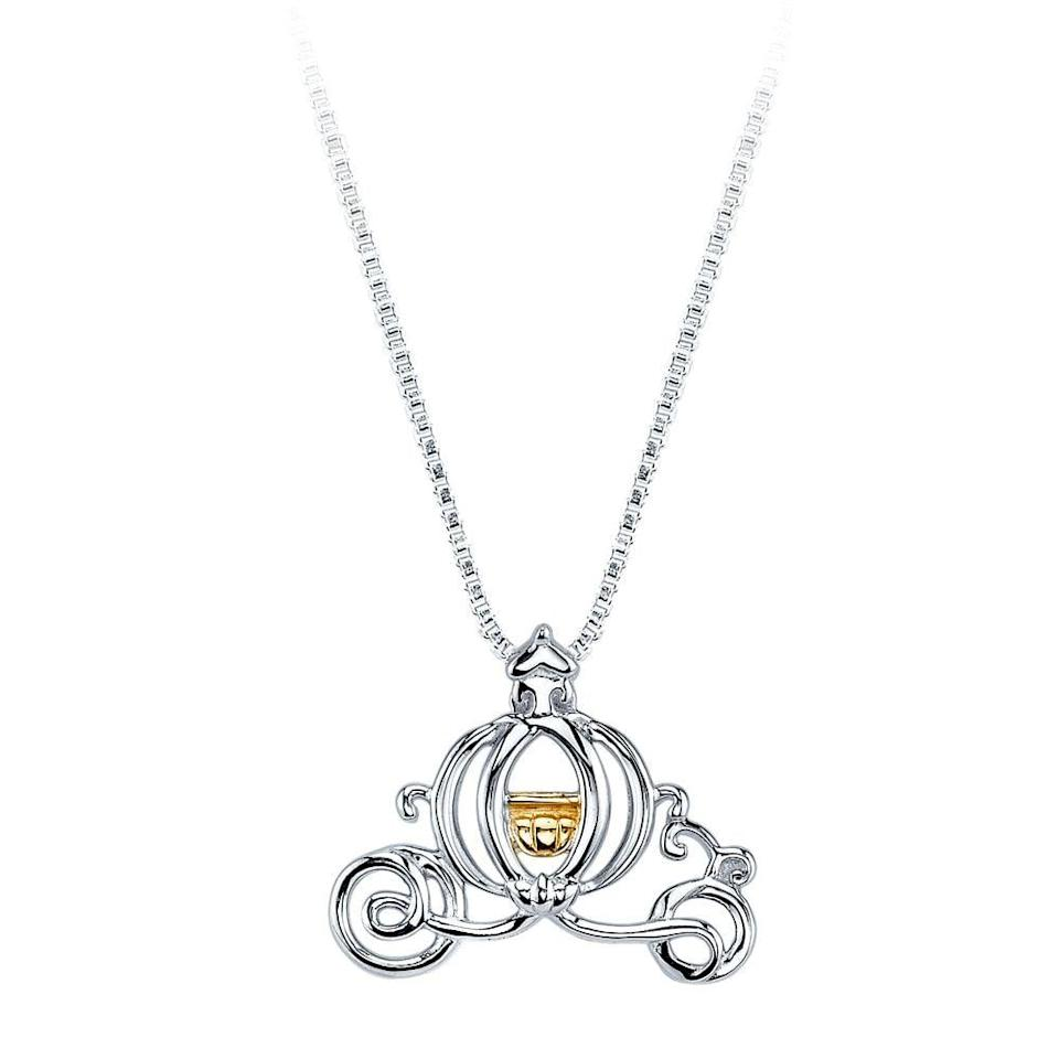 <p>How pretty is <span>Cinderella's Carriage Necklace</span> ($75)?</p>