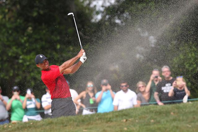 Tiger Woods makes another huge jump in the Official World Golf Ranking following runner-up at Valspar Championship