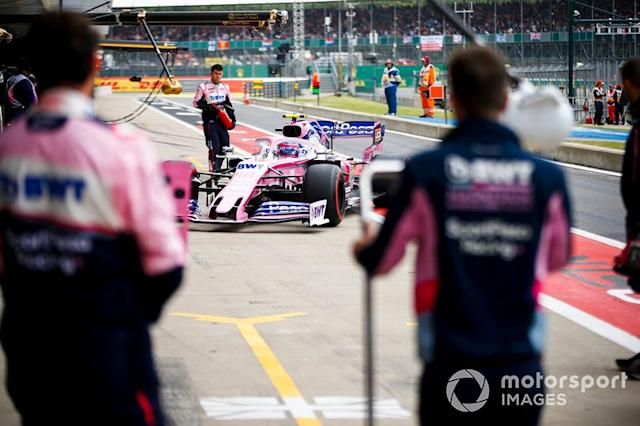 "Lance Stroll, Racing Point RP19 <span class=""copyright"">Andy Hone / LAT Images</span>"