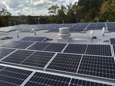 Norton Shores Rooftop Solar (PRNewsfoto/New Energy Equity)