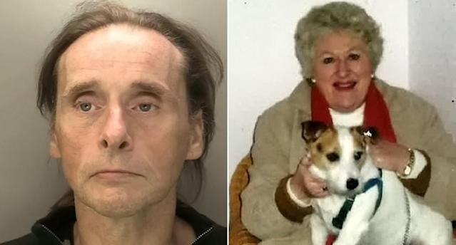 Carl Port, 50, ransacked the home of 81-year-old Jean Whitmore (Picture: SWNS)